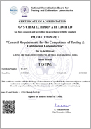 NABL Certificate of Accreditation